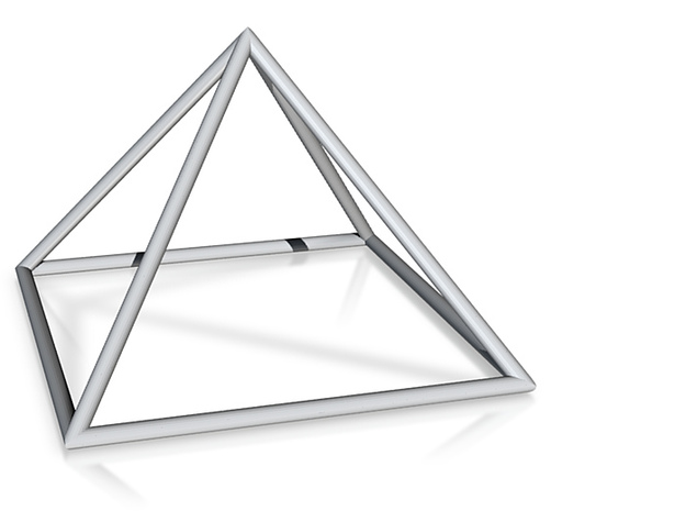 square pyramid 70mm 3d printed