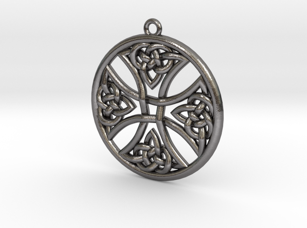 Celtic Cross Round 30mm 3d printed