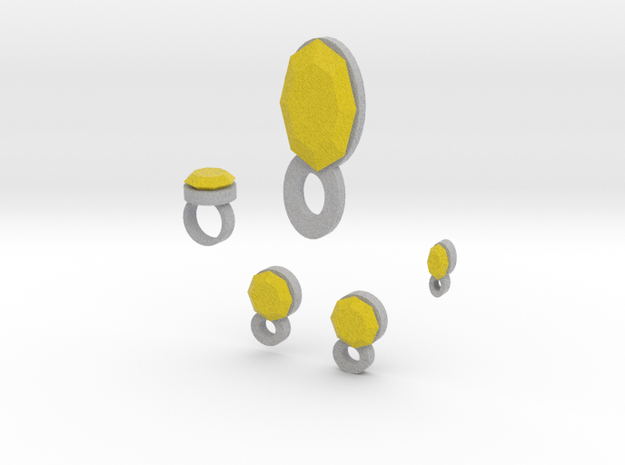 Lara Citron Jewelry Set 3d printed