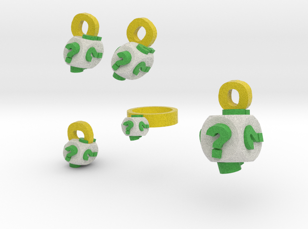 chance jewelry set 3d printed