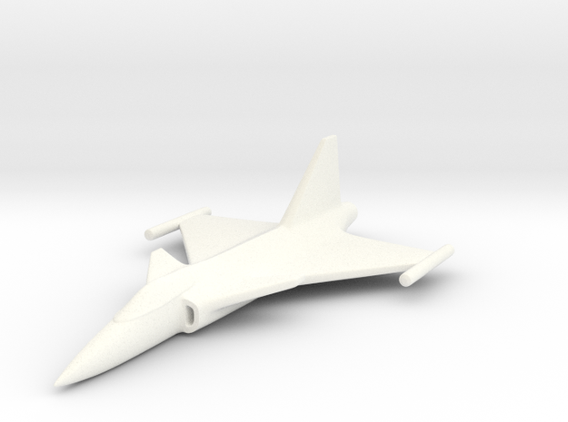 1/285 (6mm) JAS39 Gripen 3d printed