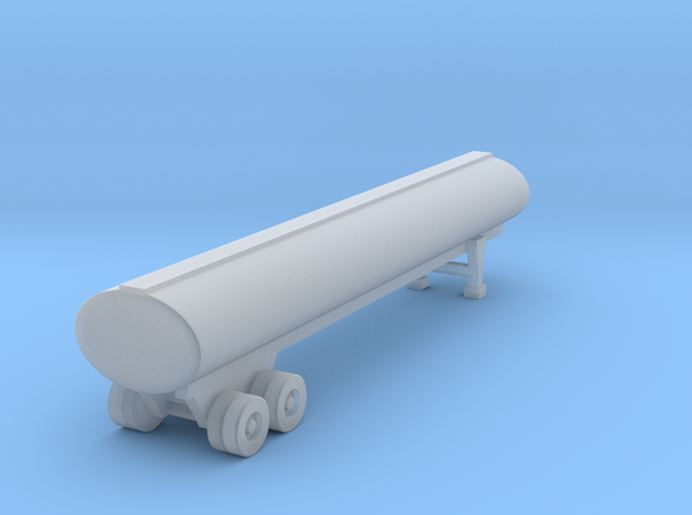 40 foot Tank Trailer - Z scale 3d printed