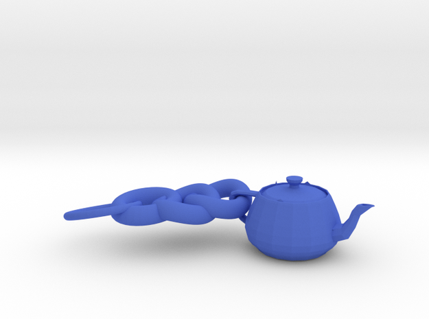3ds Max Tea Pot Key Ring 3d printed