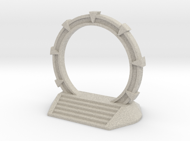 Gate Game Token (4cm) 3d printed