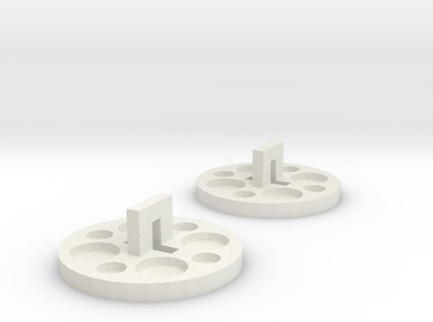 120 To 116 Film Spool Adapters, Set of 2 3d printed
