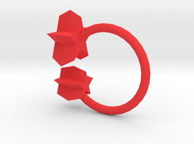 Star Ring 3d printed