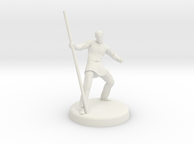 Avric (Human Monk) 3d printed