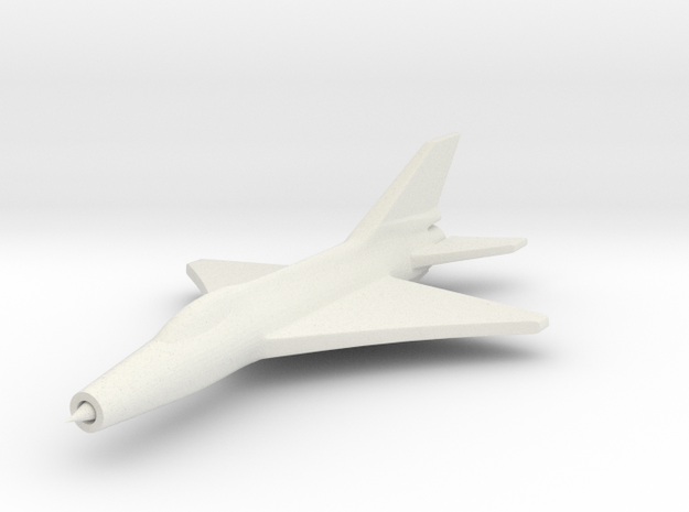 1/285 (6mm) J-7 Shenyang Fighter 3d printed