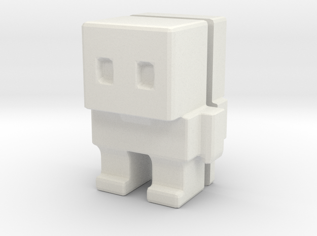 Block Bot Split 3d printed