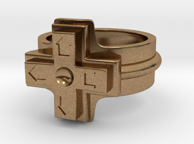 Ring of the gamer 3d printed
