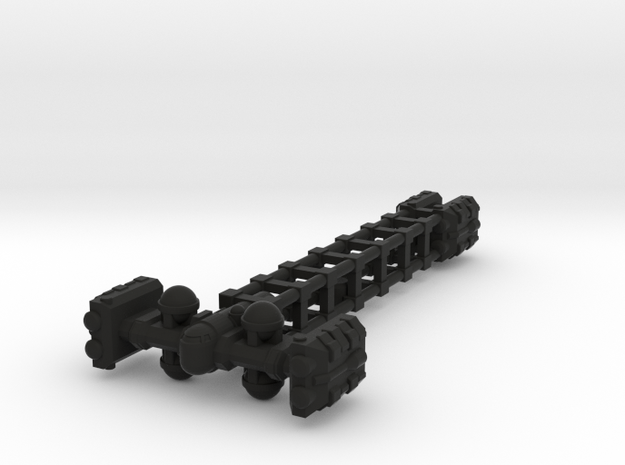 Cargo Tug: Unloaded 3d printed