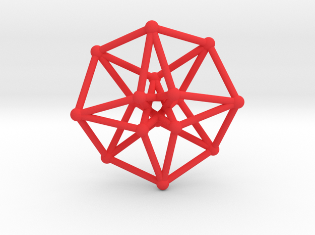Toroidal Hypercube 35mm 1.5mm Time Traveller 3d printed