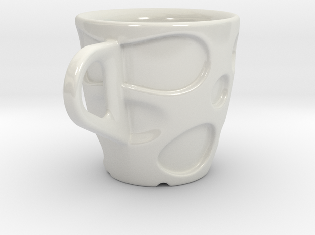 one cup a day | Day 18: Emmental Cup 3d printed