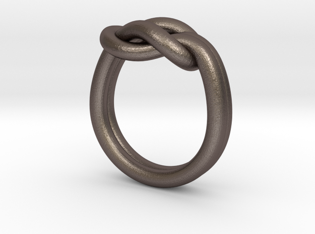 Reef Knot Ring Size 9 3d printed