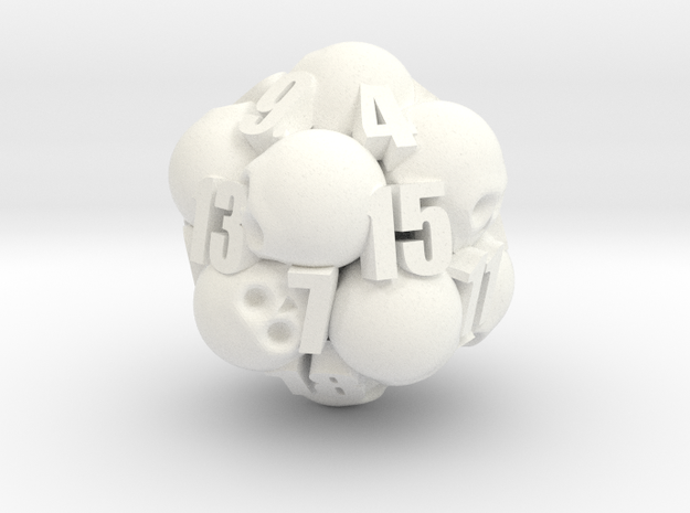Ossuary d20 3d printed