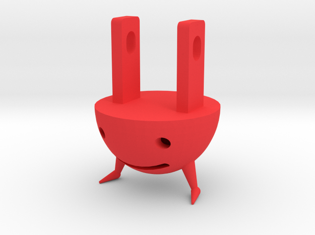 Plug Dude from DOWN&OUT in the Magic Kingdom cover 3d printed