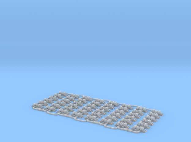 Check Rail Chairs 1.02mm Four Pack 3d printed