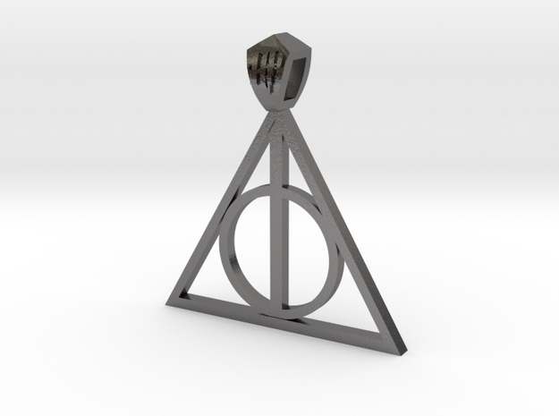 Harry Potter Pendant (metal) 3d printed