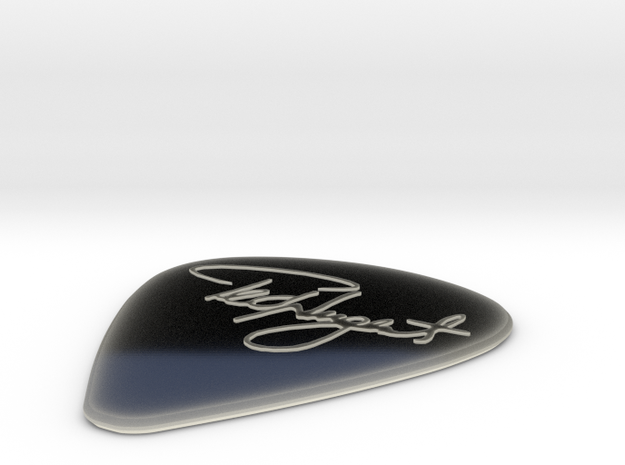 Ted Nugent Pick 3d printed