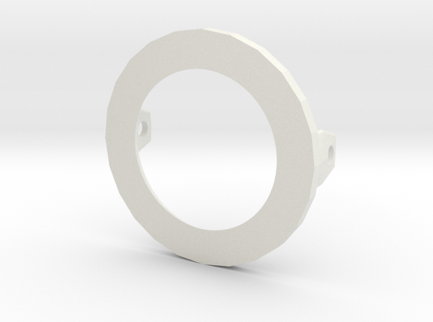 Ping pong ball holder for puppet eyelid 3d printed