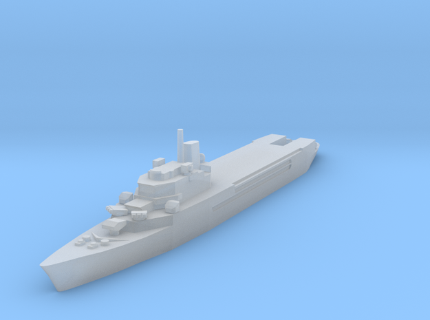 Jeanne d'Arc helicopter cruiser 1:2400 x1 3d printed