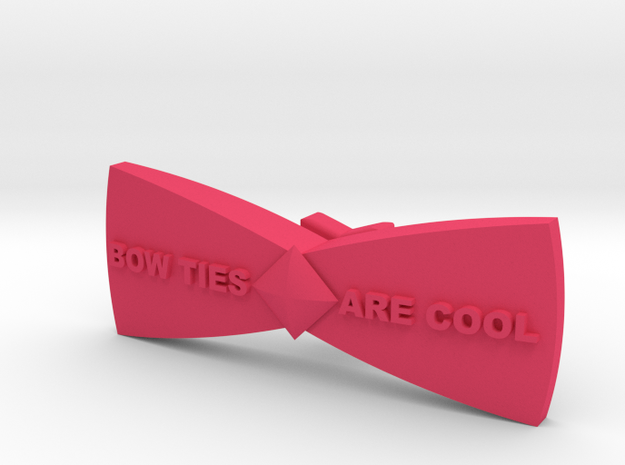 Bow ties are cool - spinner 3d printed