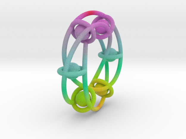 kugelring 2 color 3d printed