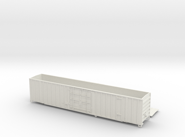 Gunderson 60' Box Car Single Plug Door O Scale NF 3d printed