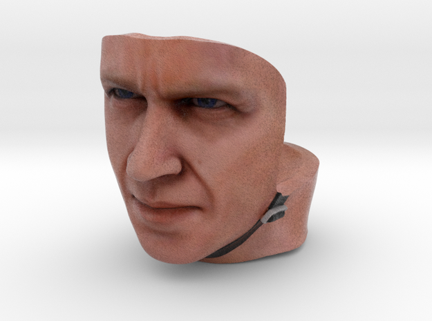 SR30002 SRB driver face (2 of 5) 3d printed