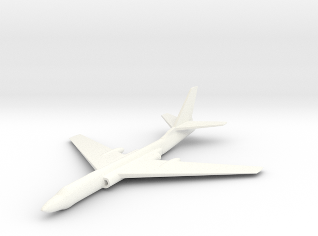 1/285 (6mm) Tu-16 Bomber 3d printed