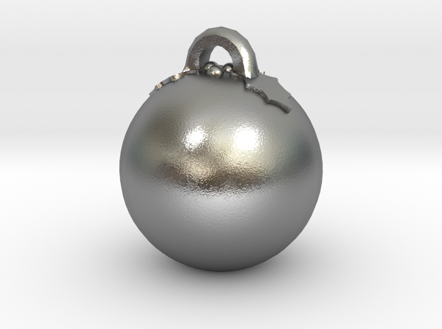 Christmas Puddin Bauble (Personalize) 3D printed 3d printed