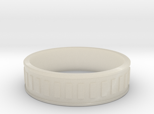 Studded Ring size 23 3d printed