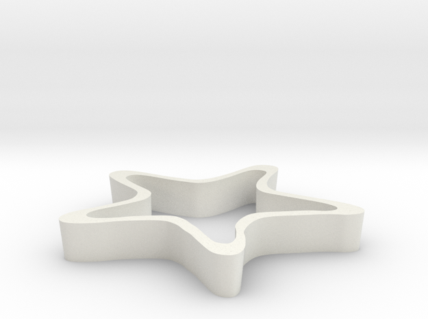 Starfish Cookie Cutter 3d printed