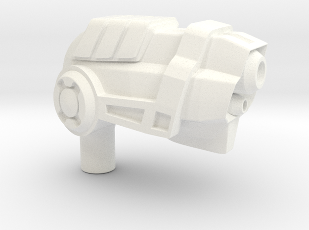 Pea Shooter 3d printed
