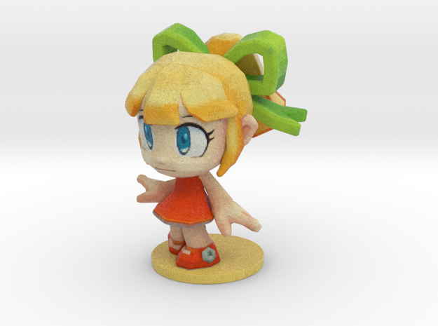 Roll from Megaman - 50mm 3d printed