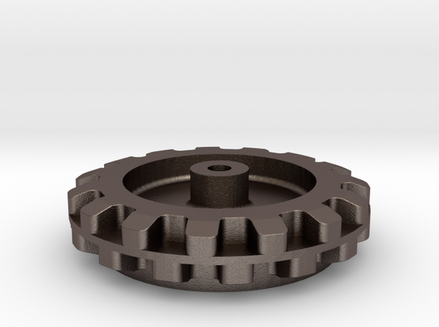 Pololu 15 Cog Wheel For Axle 3d printed