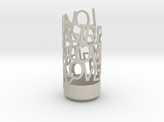 Lovely Girls Love Me Lovely 3d printed