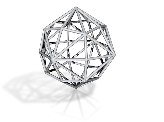 DisdyakisDodecahedron 70mm 3d printed