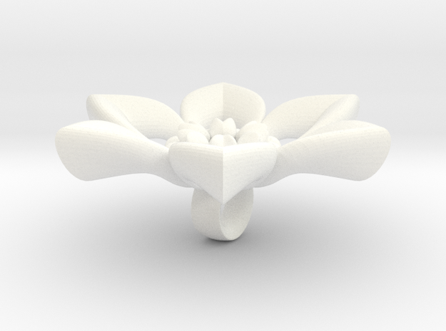 Judy flower charm. 3d printed
