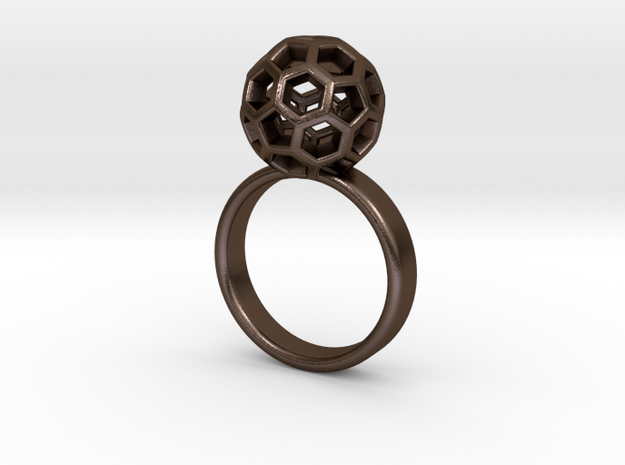 Soccer Ball Ring 3d printed
