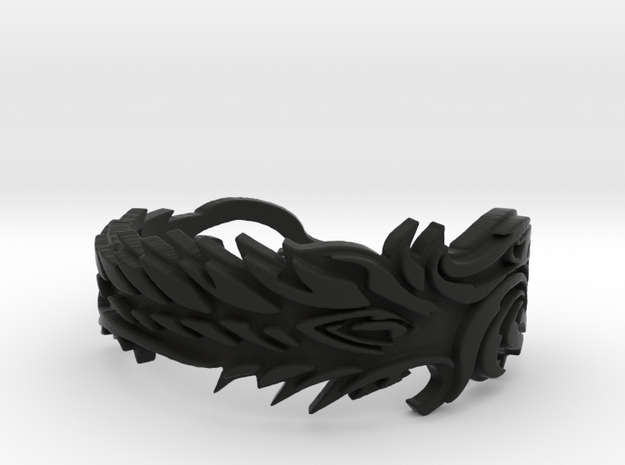 Covenants Crest Ring Size 10 3d printed
