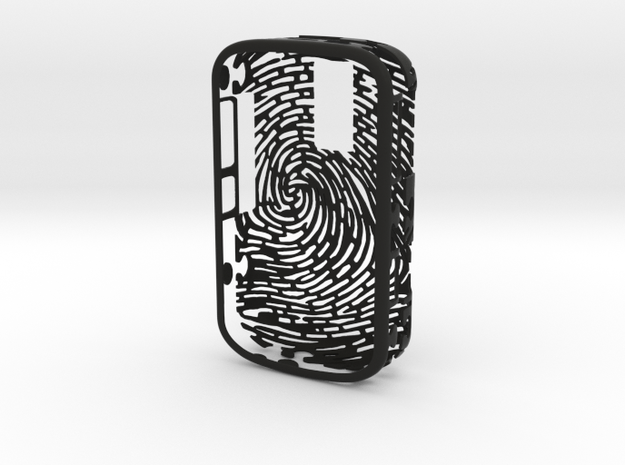 Blackberry 9000 - Fingerprint Design 3d printed