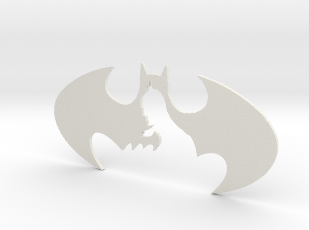 batman decorative plate 3d printed