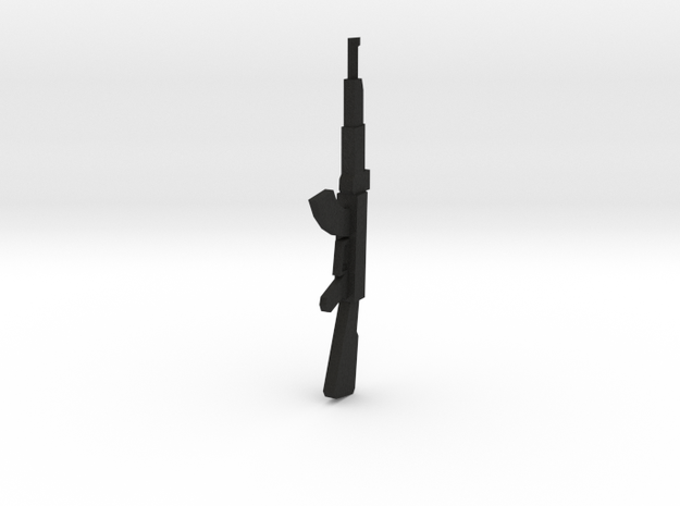 Miniature AK47 Gun 28mm 25mm 3d printed