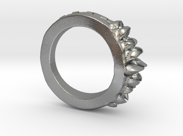 Alien Bite Ring 3d printed