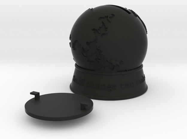 A World of Change 3d printed