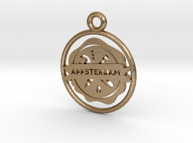 Appsterdam Pendant 1g for metal 3d printed