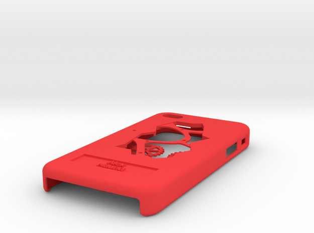 Clockwork iPhone 4/4S Case with Moving Cogs 3d printed