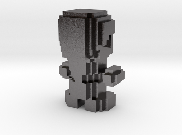 Cube World Person 3d printed