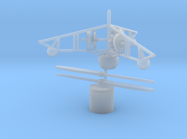 1/144 PKZ 2 helicopter 3d printed